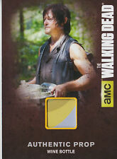 The walking dead saison 4/1 M03 prop carte bouteille vin (b)