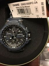 New Casio G Shock GWA1000FC-2A W/tags 6 Multi Band Tough Solar