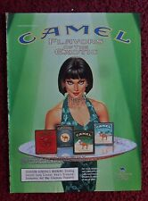 2001 Print Ad Camel Turkish Jade Cigarettes ~ Flavors of the Exotic Girl ART