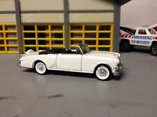 1/64 1953 Packard Caribbean cv. in White with Black Int. with WW on Wire Wheels