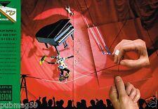 Publicité advertising 1993 (2 pages) Pellicule photo Fujifilm  par JP Goude