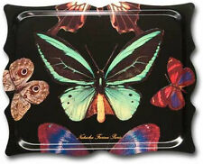 "Melamine TV Trays Serving Trays Ottoman Tray Bed Tray Plastic Butterfly 19""x15"""