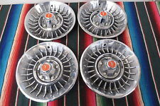 """1966-1967 Plymouth Belvedere/ Fury/ Satellite Set 14"""" Hubcaps Mag Wheel Covers"""