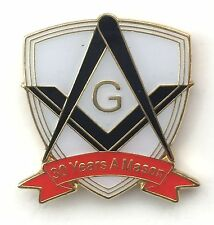 30 Years a Mason Masonic Commemorative Lapel Pin Badge *Exclusive*