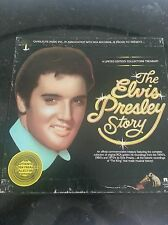 THE ELVIS PRESLEY STORY CANDLELITE RCA RECORDS LIMITED EDITION COLLECTORS ED.