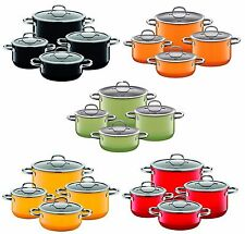 WMF Silit Siligaran Passion 8 Piece Cookware Set – Multiple Colors