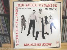 "★★ 12"" Maxi - BIG AUDIO DYNAMITE - Medicine Show  8:58min - CBS"
