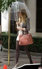 Hot Ladies Womens Brolly See Through Transparent Umbrella Clear Bubble Dome