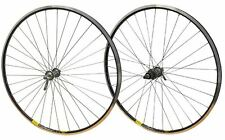 700c PAIR Shimano 105 32h Road Bike Mavic Open Pro Cassette Hub Black Rim Wheels