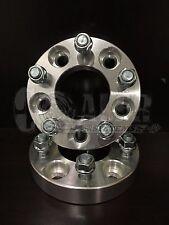 """2 Piece Wheel Spacers Adapters 5x4.5 to 5x5 1.25"""" Jeep JK Wheels On TJ YJ KK SJ"""