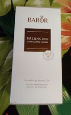 Babor Balancing Cashmere Wood Soothing Body Oil 200 ml NEW IN BOX
