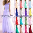New Lace Formal Evening Ball Gown Party Prom Cocktail Bridesmaid Dress Size 6-18