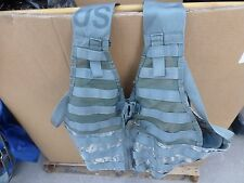 PRICE DROP!!!-GOTTA GO!!!!  FIGHTING LOAD CARRYING VEST-MOLLE-DIGITAL CAMO