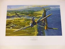 Defiance At Dieppe American Edition by Robert Bailey Spitfire 2 signers