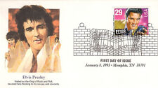 ELVIS PRESLEY - FIRST DAY COVER 014 STAMPED IN MEMPHIS