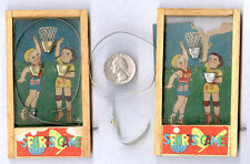 "'30's PRE WAR JAPAN B B BASKETBALL GAME HAND HELD + 1 ""as is"" (a 2 for) **SALE**"
