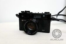 Yashica Electro 35 GT 35mm Rangefinder Film Camera with strap