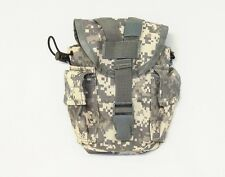 ACU digital camouflage 40114 nylon MOLLE 1 quart canteen and utility pouch NWT