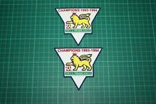 F.A. PREMIER LEAGUE GOLD-CHAMPIONS BADGES 1993-1994