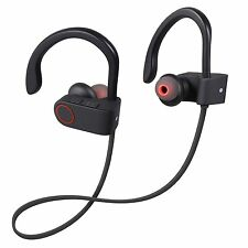 New Bluetooth 4.1 Headphone Earbuds Sweatproof Sports Wireless Secure In Ear