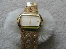Pretty Vernier Ladies Quartz Watch - Wide Band