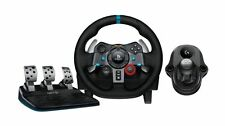 Logitech Driving Force G29 Steering Wheel Pedals + Gearstick /Shifter PS3 PS4 PC