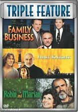 Family Business/First Knight/Robin and Marian (DVD, 2008, 3-Disc Set)