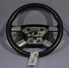 #005 FORD FOCUS C-MAX 2004 GHIA LEATHER STEERING WHEEL W/ BUTTONS P/N 3M513600C