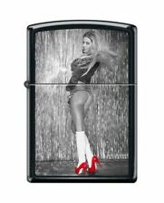 BRIQUET ZIPPO NEUF - FEMME SEXY ( Chaussures Rouges 2 ) - 2016
