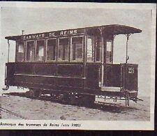 1976  --  REMORQUE DES TRAMWAYS DE REIMS VERS 1905  T731