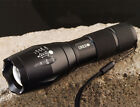 NEW E17 CREE XM-L T6 2000 LUMENS ZOOMABLE POWER TORCH LED FLASHLIGHT.