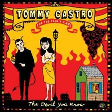 Devil You Know - Tommy & The Painkillers Castro (2014, CD NEU)