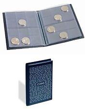 Leuchtturm Taschenalbum ROUTE m. 8 Münzblättern für je 12 Münzen 335392
