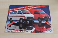 121792) Renault R4 F6 - Trafic - Master - tech. Daten - Prospekt 198?