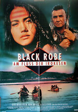 BLACK ROBE - AM FLUSS DER IROKESEN  original Kino Plakat A1