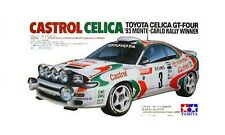 Tamiya 24125 1/24 Model Car Kit Toyota Castrol Team Celica GT-Four ST185 WRC'93