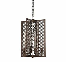 Savoy House 3-7601-4-131 Barclay 4-Light Foyer in Guilded Bronze