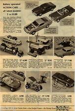 1970 PAPER AD Remco Dune Buggy Wheelies Crashmobile Camaro Computer Car Truck
