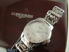 NEW Longines Swiss Saint-Imier L27634726 Mens Stainless Steel Watch