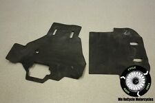 99 HONDA INTERCEPTOR VFR 800 F1 ENGINE DUST RUBBER HEAT SHIELD COVER OEM VFR800