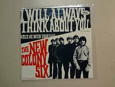 "NEW COLONY SIX: I Will Always Think About You-Hold Me w/Your Eyes-Sweden 7"" PSL"