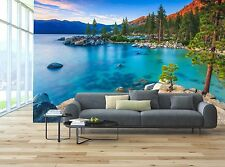Lake Tahoe at sunset Mural Photo Wallpaper Decor Paper Wall Background 3D