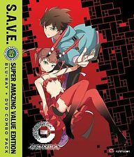 C: Control The Money Of Soul And Possibility Complete Series Anime DVD + Blu-ray