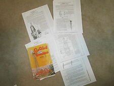 Axtell Model A Ever Oiled Windmill Descriptive Info & Diagrams