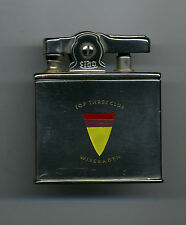 Vintage Lido Lighter Top Three Club 91st AAA BN Wiesbaden Germany US Military