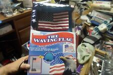 The Waving Flag as seen on TV Electronic Plays 2 songs! Realistic Waving Action!
