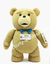 40cm  PP COTTON GIANT CUTE PLUSH Men's TEDDY BEAR super gift +fast ship