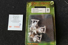Games Workshop Lord of the Rings Uruk Hai Archers Bowmen x3 BNIB Metal Isengard
