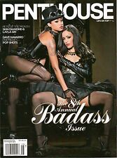 PENTHOUSE Magazine THE BADASS ISSUE SKIN DIAMOND AND LAYLA SIN JULY AUGUST 2014