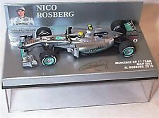 Mercedes gp F1 team mgp W01 n. rosberg 2010 new in case